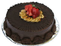 Chocolate cake. A symbol for the rewards of following this recipe.