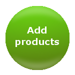 Add products to your new online store using your shopping cart software and a web browser